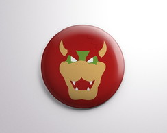 Botton - Bowser - Super Mario