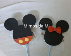 aplique minnie e michey