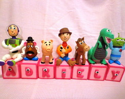 Cubos decorados Toy Story