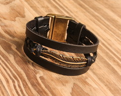 Pulseira Black Feather