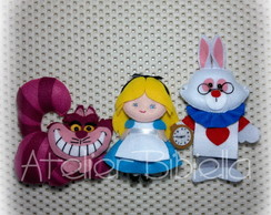 Alice Lembrancinha - Kit 3 Personagens