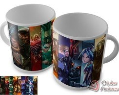 Caneca League Of Legends mod.02