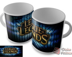 Caneca League Of Legends mod.03