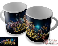 Caneca League Of Legends mod.04
