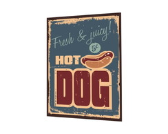 Placa MDF Hot Dog - 754