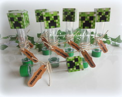 tubete Creeper Minecraft