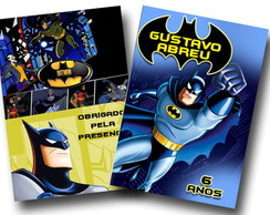 Revista de colorir Batman 14x10