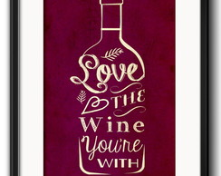 Quadro Wine Love com Paspatur