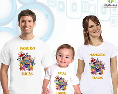 Kit 3 camisetas - Discovery Kids 1