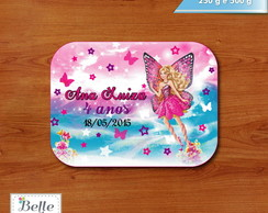 Tampa para marmita Barbie Butterfly
