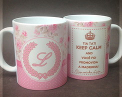 Caneca Keep Calm ShabbyChic