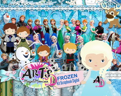 FROZEN - KIT DIGITAL PARA SCRAPBOOK