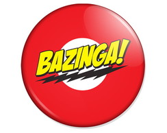 Bazinga - Big Bang Theory - 5,5cm