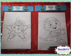 Kit Colorir 2 - Super Why!