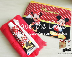 Kit Dental com necessaire - Minnie