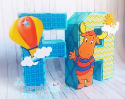Letras 3D Backyardigans