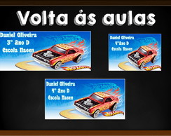 Etiquetas e Tag - Hot Wheels
