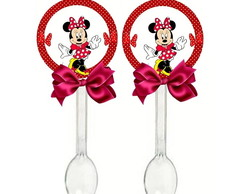 20 Colheres Minnie Mouse