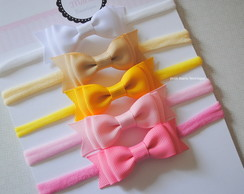 Kit com 5 headbands - laço M