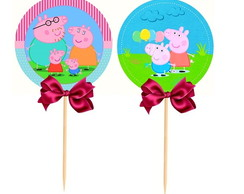 20 Toppers Peppa pig