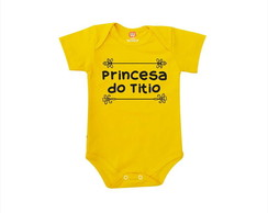 Body ou Camiseta Princesa do Titio