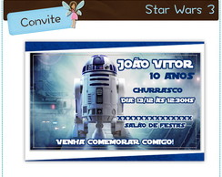 Convite Star Wars | digital