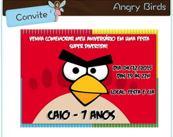 Angry Birds | Convite digital