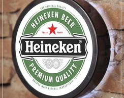 Luminoso para bar - HEINEKEN - COM LED