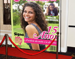 Backdrop para 15 anos - Revista