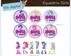 Kit digital Equestria Girls | para imprimir