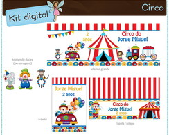 Kit digital Circo | para imprimir