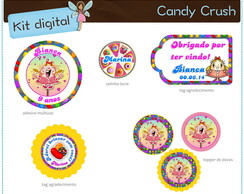 Kit festa Candy Crush | para imprimir