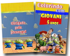 Revista de colorir Toy Story 14x10