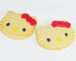 Biscoito amanteigado Hello Kitty