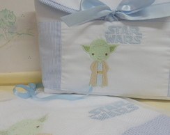 Kit Necessaire com Fralda (Star Wars)