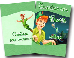 Revista colorir Peter Pan 14x10