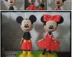 Mickey e Minnie * Vendidos separadamente