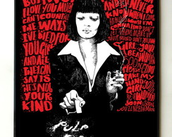 Quadro Pulp Fiction 02