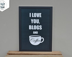 Blogs and Coffee (tam. médio)