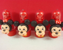 Mini Tubete Aplique Mickey ou Minnie