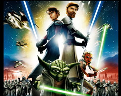 Mouse pad - Star Wars The Clone Wars