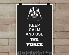 Poster The Force A4
