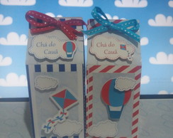 Box Milk Balao e Pipa - Caixa Milk