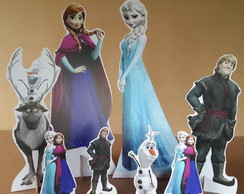 Kit display tema Frozen