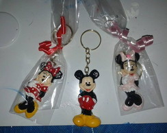 Chaveiros e ímas do Mickey e Minnie
