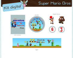 Kit festa Super Mario Bros | digital