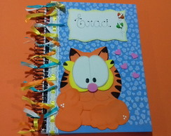 Caderno Decorado Garfield