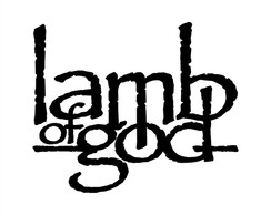 Adesivo Rock Heavy Metal Lamb Of God