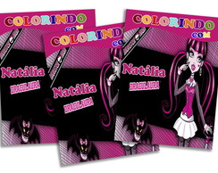 Revista personalizada - Monster High
