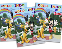 Revista personalizada - Casa do Mickey